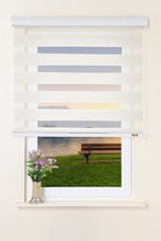 new design hot sale zebra blind& zebra double layer shade &day and night roller blind