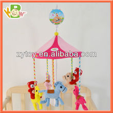 Hot Selling Mini Stuffed Plush Baby Bed Soft Hanging Toy