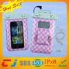 Dongguan PVC waterproof bags for mobile phone with Armband and Earphone