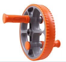 AB wheel roller with adjustable handles