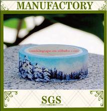 Custom printing washi tape ,beautiful natural patterns washi tape