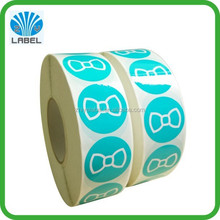 Printed round paper sticker,strong adhesive custom printed labels
