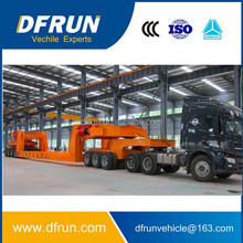 Double direction 3 lines axles lowbed dolly tow semi trailer extra large transportation