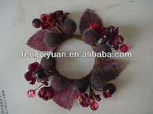 New style popular wedding candle rings