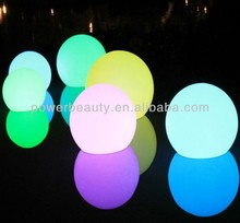 floating led sphere ball lights with 25cm decorative lights for weddings light up ball for wedding decoration