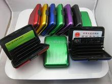 Customized Wallet mental aluminium card case,2012 best mens wallet brands