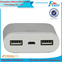 Super fast charge 7800mah portable mobile power bank,portable powerbank,portable charger