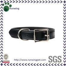 Simple Cheap Genuine leather dog collar,dog collar leather
