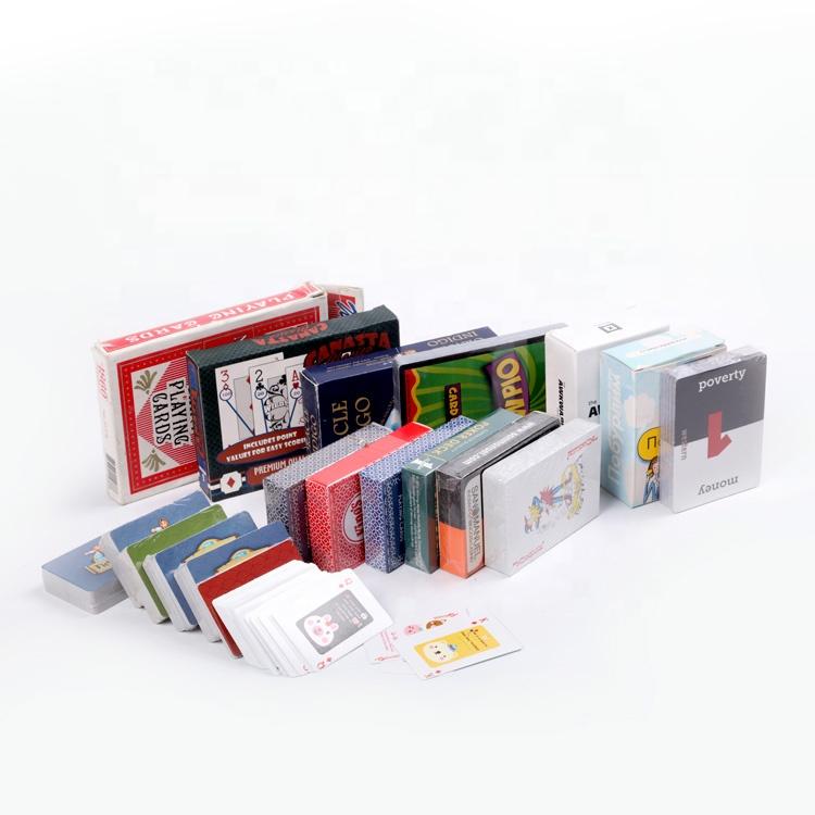 مخصص عالية الجودة البنغو فلاش مجموعة المطبوعة 3d الأطفال التعليمية لعبة ببطاقات ورقية مع مربع