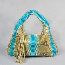 Exotic skin lady bag_python handbags_python purse_exotic handbag