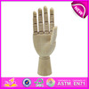 Best selling manikin wood hand,flexible wooden manikin hands for sale,Manikin Flexible Wooden Mannequin Hand W06D042-B