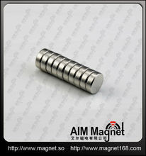 small flat neodymium magnets d12 x 3mm