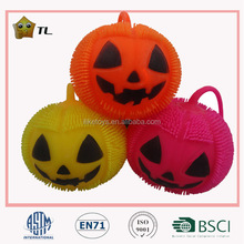 England hot LED Flashing stretchy puffer Halloween pumpkin
