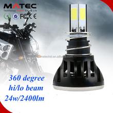Automobiles & motorcycles waterproof motorcycle led headlight , 12V 360 degree motor head light use motorcycle japan