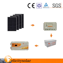Home electricity power station base on your need solar power system design