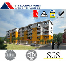 5 to 8 story pefabricated residential apartment for sale made in China