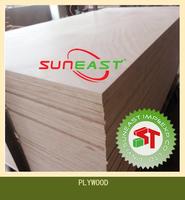 18mm waterproof laminated marine plywood with hardwood core,hardboard plywood,high density plywood