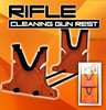 RIFLE CLEANING AND MAINTENANCE CRADLE GUN REST KIT