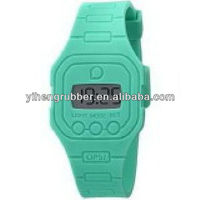 Cheap silicone interchangeable jelly quartz wrist watch