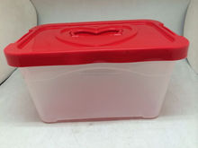 With the handle plastic storage box wall mounted plastic storage box