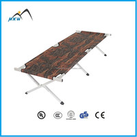 High quality padded camping bed