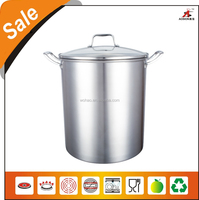 christmas promotional product stainless steel turkey frying pot