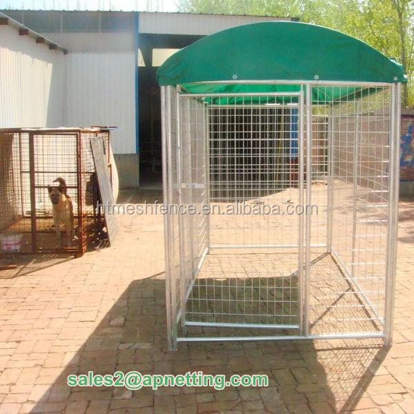 6ft chien chenil cage treillis soud galvanis cages. Black Bedroom Furniture Sets. Home Design Ideas