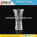 ホット背の高い花のガラスの花瓶の絵デザインフラワーアレンジメントに