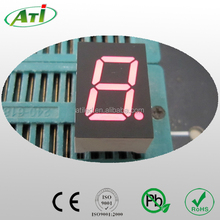 0.39 inch 7 segment led display.0.39 inch red single digit 7segment led display