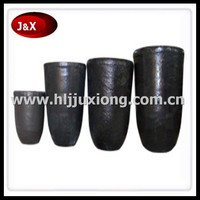 High purity metal melting graphite crucible for gold/silver/aluminium/copper of jewelery