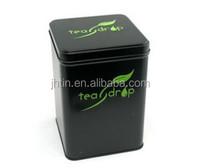custom made tea tin box air tight hot sale 72*72*93mm 2015 fashion style