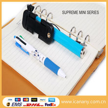 World's super mini design wired selfie stick as short as a pen