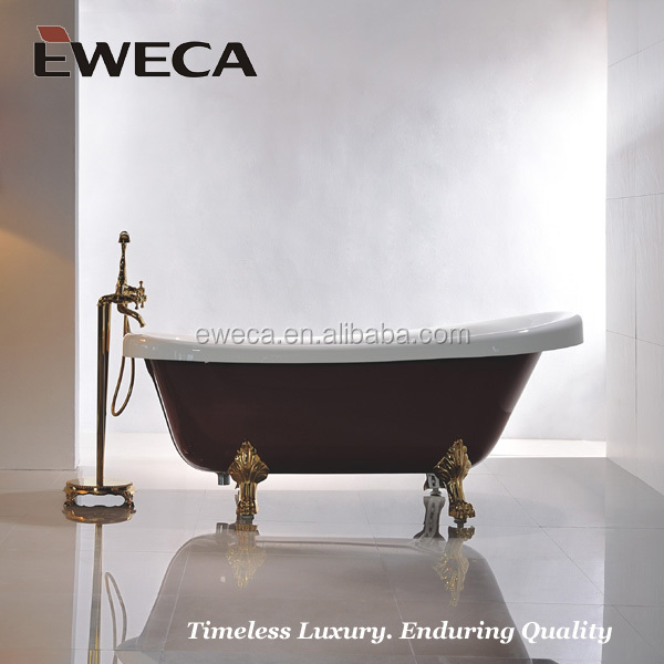Claw Foot Red Bathtub Indoor Bath Tub Royal Bathtub Buy Red Bathtub Bathroo