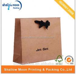 wholesale custom design art paper laminated paper bags