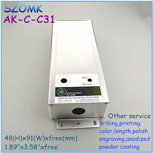 led controller aluminum enclosures for electronics