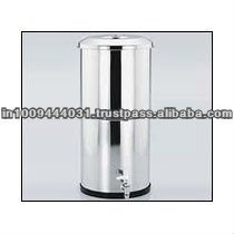 Stainless Steel Gravity Base Water Filters Housing Containers