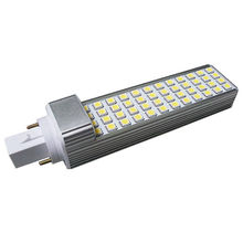Factory price high lumens SMD2835 12W G24/G23/E27 LED PL lamp