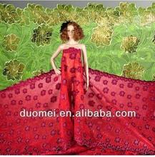 P2485 african taffeta textile wedding stocklot plain Korea Velvet with Stones for Garments
