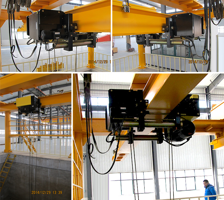 Top Running Type Wire Rope Electric Hoist With Taiwan