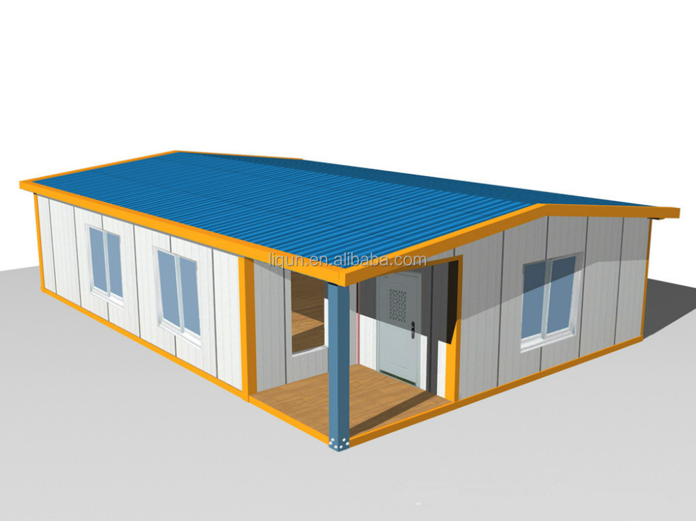 2015 New Style Finished Container House Prefabricated