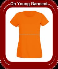 Wholesale cheap custom 95 cotton /5 elastane for printing t shirts no minimum