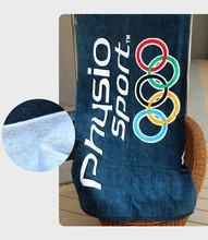 active print Olympic sports towel