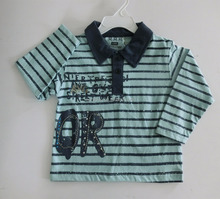 Best selling kids wear long sleeve comfortable baby cotton t-shirt