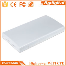 2.4GHz long range 1000M Whigh power 300Mbs outdoor wireless CPE/wireless AP/wireless bridge/client/router
