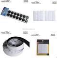 Fabricante stickness forte impermeável velcro adesivo ponto& cartas velcro
