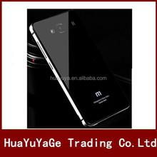 Aluminum Metal Tempered Glass phone cases cover for xiaomi redmi hongmi 2