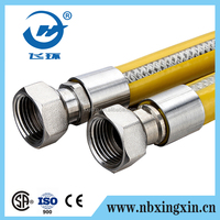"EN14800 1/2 "" Flexible Metal Cooker Gas Hose"