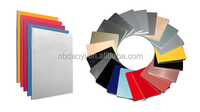 PVDF Coated Surface Treatment and Fireproof,Antibacterial Function PVDF Coated Aluminium composite panel