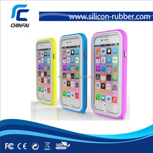 Waterproof case Bumper for Apple iPhone 6, silicone cover