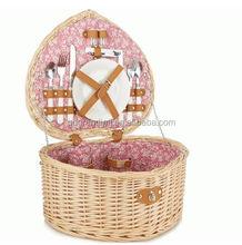new style wicker picnic basket